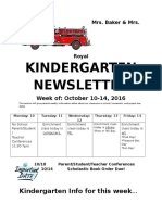 october newsletter week 2