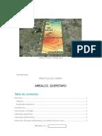 Reporte Hidrogeologico de Amealco