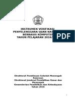 Instrumen Verifikasi Unbk r 2016