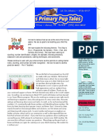 pup tales newsletter 1