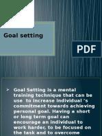 Goal Setting (Eden May P. Beltran)