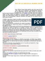 Análisis Literario de La Vuelta Al Mundo en 80 Dias
