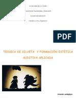 TÉCNICA DE SILUETA