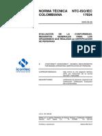 Ntc Iso Iec17024