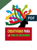Creatividad Para La Toma de Decisiones