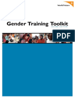 Gender Training Toolkit