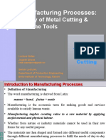 7106885 Theory of Metal Cutting