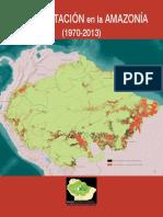 Deforestacion en La Amazonia (1970-2013) REGIONAL