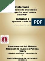 2.- Fundamentos Del SNIP