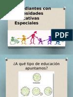 Estudiantes Con Necesidades Educativas Especiales