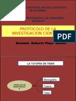 Protocolo de La Investigacion Cientifica