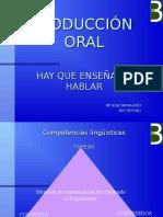 Producción Oral