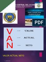 VAN O VNA. (1)
