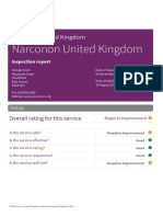 Narconon United Kingdom Inspection 2016