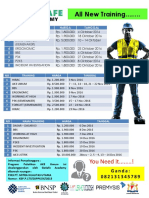 All New Training Gsa Okt-Des