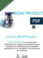 WOW PROYECT (ProyectoFinalSeminario)
