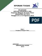 Konsep Laporan Tugas Mandiri AA UNIK 2015