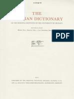 Dicionário Assírio K