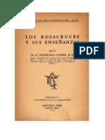 Swinburne Clymer - Los Rosacruces Y Sus Enseñanzas