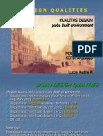 Design Qualities ian bentley