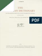 Dicionário Assírio L