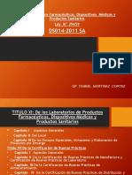 Legislación . Establecimientos Farmaceuticos 2015 3
