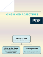 Ing & Ed Adjectives