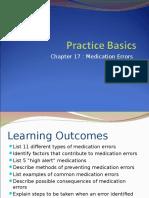 Best Practice Medication Errors