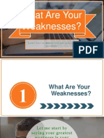 What Are Your Weaknesses? How To Answer This Job Interview Question