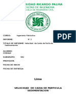 Lab.02 Velocidad de Caída de Partícula