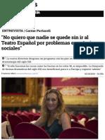 %22No quiero que nadie se quede sin ir al Teatro Español por problemas económicos o sociales%22.pdf
