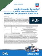 Especificaciones Navistar Para El Líquido Enfriador-Anticongelante and Chevron Delo ELC