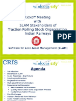 Presentation 2_CRI SLAM Kick Off Presentation 6 Aug 2013 by Sify-WinFocus
