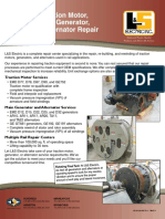 Traction Motor Alternator Repair
