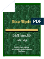 FMI - Disaster Mitigation