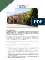 Agenda Escolar Orientaciones