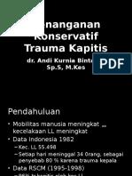 Trauma Kapitis 2012