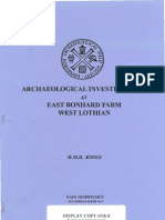 Archaeological investigation of a crop-mark at East Bonhard West Lothian