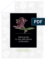 Field guide to the wild plants of Benelux (read excerpts, oct 2016)