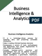 BI and Analytics