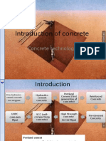 Introduction of Concrete