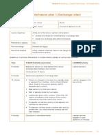 IGCSE Sample Lesson Plan