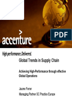 Global Trends in Supply Chain