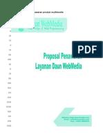 Contoh Proposal Penawaran Produk Multimedia