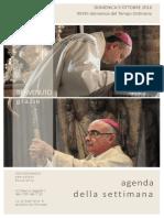 Comunità pastorale  di Uggiate T. e Ronago - Agenda della settimana