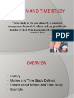 Amol Motion and Time Study Presentation