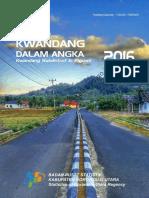 Kecamatan Kwandang Dalam Angka 2016
