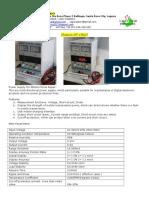 1. TDS Lagunastar - Digital DC Power Supply (Scribd)