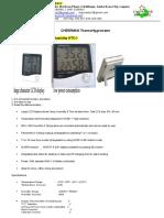 1.TDS Lagunastar Thermohygrometer