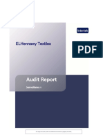 ELHennawy Textiles Surveillance 2 Audit Report